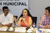 La comisionada Elizabeth Patrón, participa en el Programa Regional de Modernización Municipal