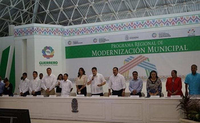 Culmina Programa Regional de Modernización Municipal