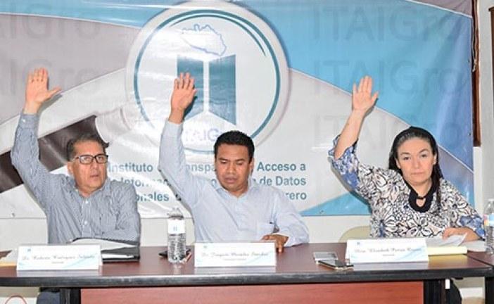 ITAIGro admite a trámite 30 Recursos de Revisión contra Sujetos Obligados que no garantizaron el Acceso a la Información