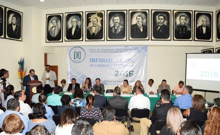 ITAIGro entrega Informe la Labores y Resultados 2016