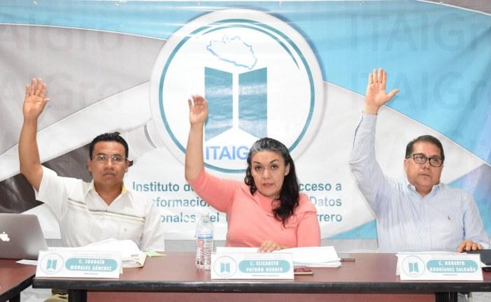 ITAIGro: No habrá prórroga para publicar información en la Plataforma Nacional de Transparencia
