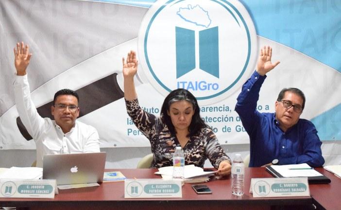 ITAIGro exhorta a sujetos obligados a subir información al SIPOT