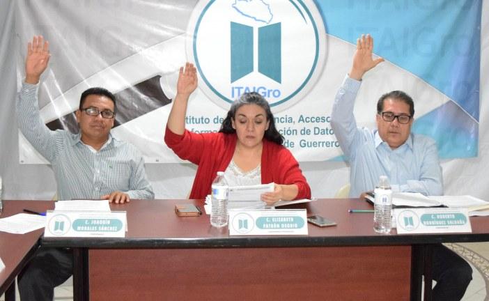 ITAIGro aprueba propuestas a favor del Acceso a la Información