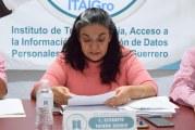 ITAIGro acuerda evaluar a sujetos obligados de la entidad