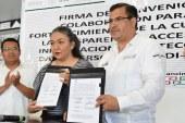 Firman convenio de colaboración ITAIGro y CDI