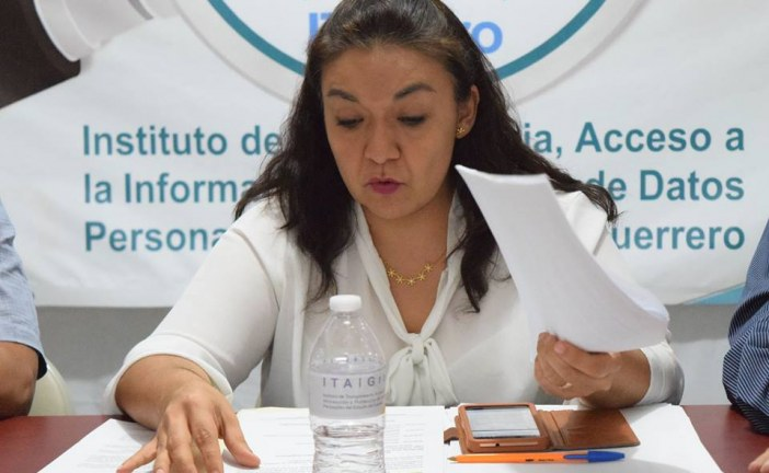 ITAIGro ordena a Derechos Humanos Guerrero publicar información
