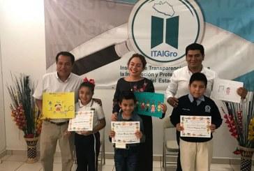 """ITAIGro, premia a los ganadores del concurso de Dibujo Infantil, """"Un Guerrero Transparente 2018"""""""