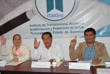 Aprueba el ITAIGro, dos recursos de revisión, un proyecto de resolución y un proyecto de cumplimiento