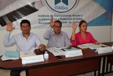 Emite el ITAIGro los formatos que permitan una entrega-recepción de las unidades de transparencia de los sujetos obligados ayuntamiento municipales