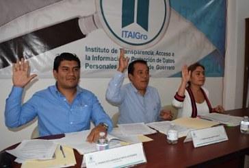 Acuerda ITAIGro declarar como infundada denuncia contra el Tribunal de Conciliación y Arbitraje al comprobarse que si cuenta con información en su portal de Internet