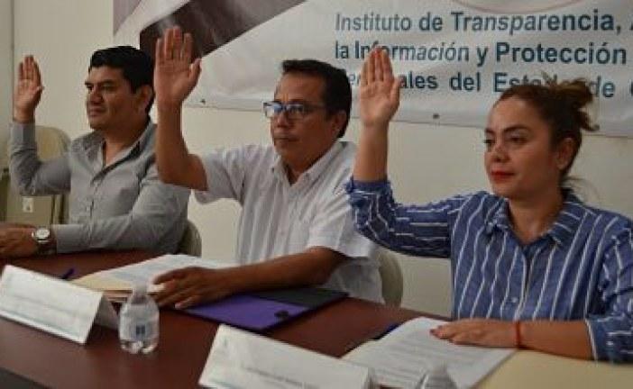 Aprueba el ITAIGro que el comisionado Francisco Gonzalo Tapia Gutiérrez forme parte del Colegio Electoral del Sistema Nacional de Transparencia