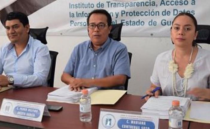El ITAIGro requirió de los Sujetos Obligados de la entidad, el catálogo de Información de interés público a más tardar en un plazo de 15 días hábiles