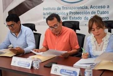 El órgano garante aprueba los lineamientos para la publicación, homologación y estandarización de las obligaciones de transparencia específica.