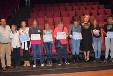 """ITAIGro premia a niños ganadores del concurso de dibujo """"Aprendiendo a Cuidar Mis Datos Personales 2019""""."""