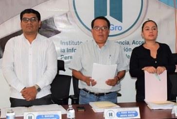 El ITAIGro, recibe tres denuncias por incumplimiento a las obligaciones de transparencia comunes de igual número de sujetos obligados.