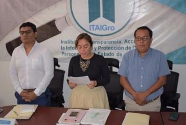 Admite el ITAIGro, denuncia por incumplimiento a las obligaciones de transparencia en contra del ayuntamiento de Copala.
