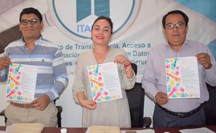 """Aprueban comisionados del ITAIGro convocatoria de dibujo, """"Aprendiendo a Cuidar mis Datos Personales 2020""""."""