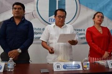 Instruye el pleno del ITAIGro, a los ayuntamientos municipales para que designen a los integrantes de sus unidades de transparencia