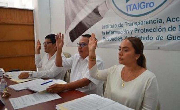 ITAIGro emitió recomendaciones a los ayuntamientos para que durante el proceso de entrega-recepción garanticen el derecho a la información y protección de datos personales para que sean consultadas